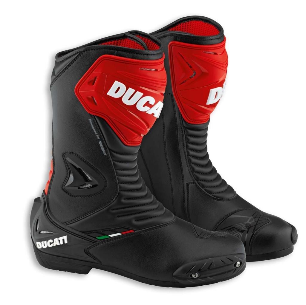 Ducati 981028944 V2 Sport Riding Boots - Size 44