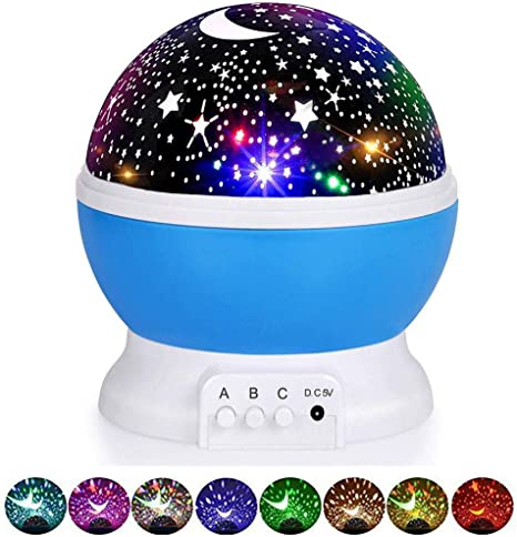 Accarparts - Proyector de luz LED de noche de estrellas, luces ...
