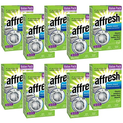 Affresh Washer Cleaner, 7 Oz, 5 Ct - 10 Packs by Affresh