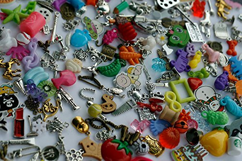 TomToy Small Mixed I Spy trinkets for I spy Bag/ Bottle, Children Crafts, Language Games, 1-3cm, Set of 20/50/100/...500 (400 trinkets) by TomToy (Image #3)