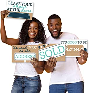 product image for Big Dot of Happiness Home Sweet Home - Photo Prop Signs - New Home and Moving Announcements - 10 Pieces