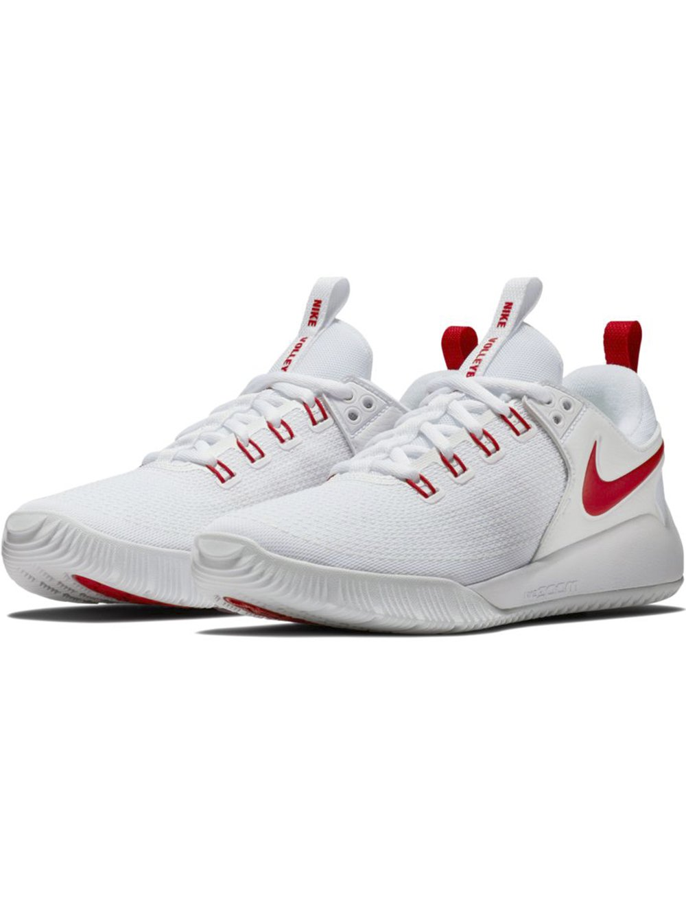 Nike Women's Zoom Hyperface 2 B(M) Volleyball Shoes B0761YY16W 8.5 B(M) 2 US|White/University Red 46c030