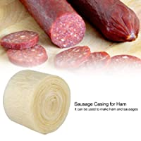 2-layered 8 Meters Edible Drying Sausage Casing for Flavorous Homemade Sausages...