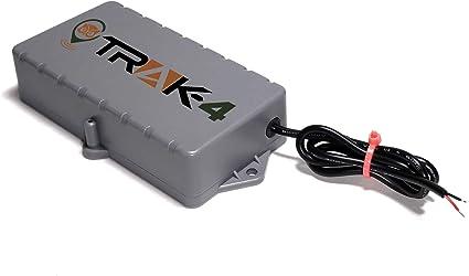 Amazon.com: Trak-4 - Rastreador GPS de 12 V con arnés de ...