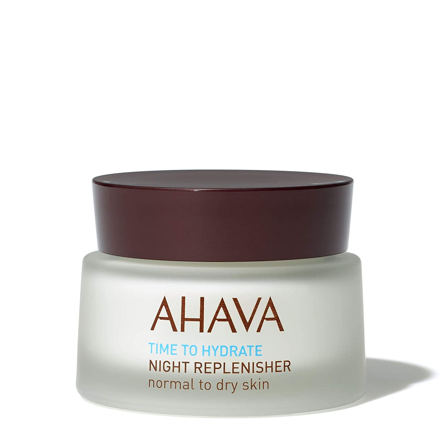 AHAVA Night Replenisher Normal to Dry Skin 50 ml Natural Dead Sea Facial Cream [Face & Neck] Anti Ageing, Moisturising, Protective Nightly Routine for Women and Men Dead Sea Laboratories Ltd 80415066 AHV00041