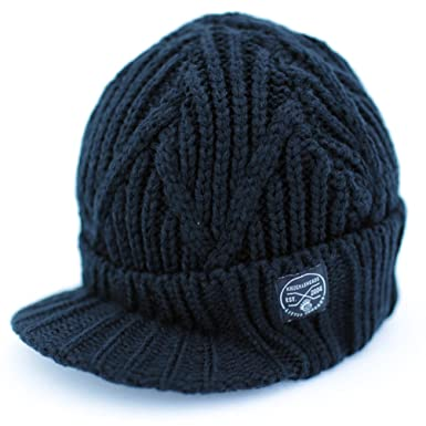 28b2d99fb9f Image Unavailable. Image not available for. Color  Born to Love  Knuckleheads - Gray Boy s Baby Visor Beanie Hat with Stripes ...