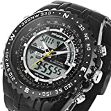 INFANTRY Men's Big Face Military Watch Analog Digital Sport Wrist Watches for Men
