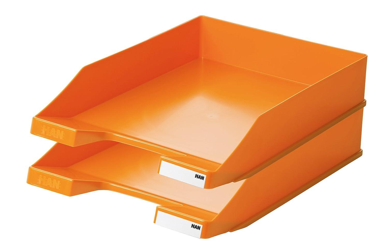 Trend Colour orange stabil HAN Briefablage KLASSIK DIN A4//C4 modern stapelbar
