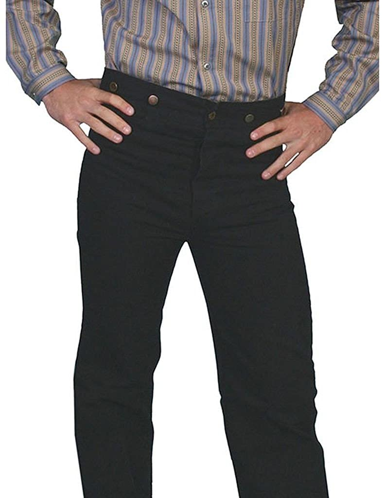 Edwardian Men's Pants, Trousers, Overalls Scully Rangewear Mens Rangewear Canvas Pants $49.34 AT vintagedancer.com