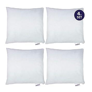 Merino Betten 4er Set Kissen 60x60 Dekokissen Couchkissen Kissen Mit Reißverschluss
