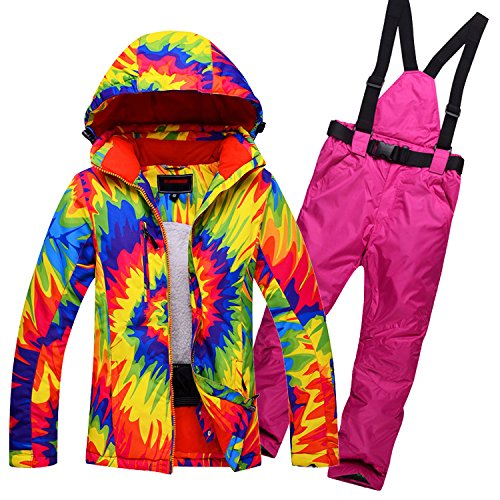 FYM JACKETS Women R Coat Suit red Men Warm Waterproof Thickened Jacket Colorful DYF Ski Climb qBfqC