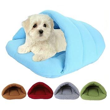 akimgo (TM) Pet Cat cama Caseta de perro pequeño cachorro sofá Alfombrilla de PET Cat House Cat Nido de dormir invierno 1 piezas dy494: Amazon.es: Productos ...