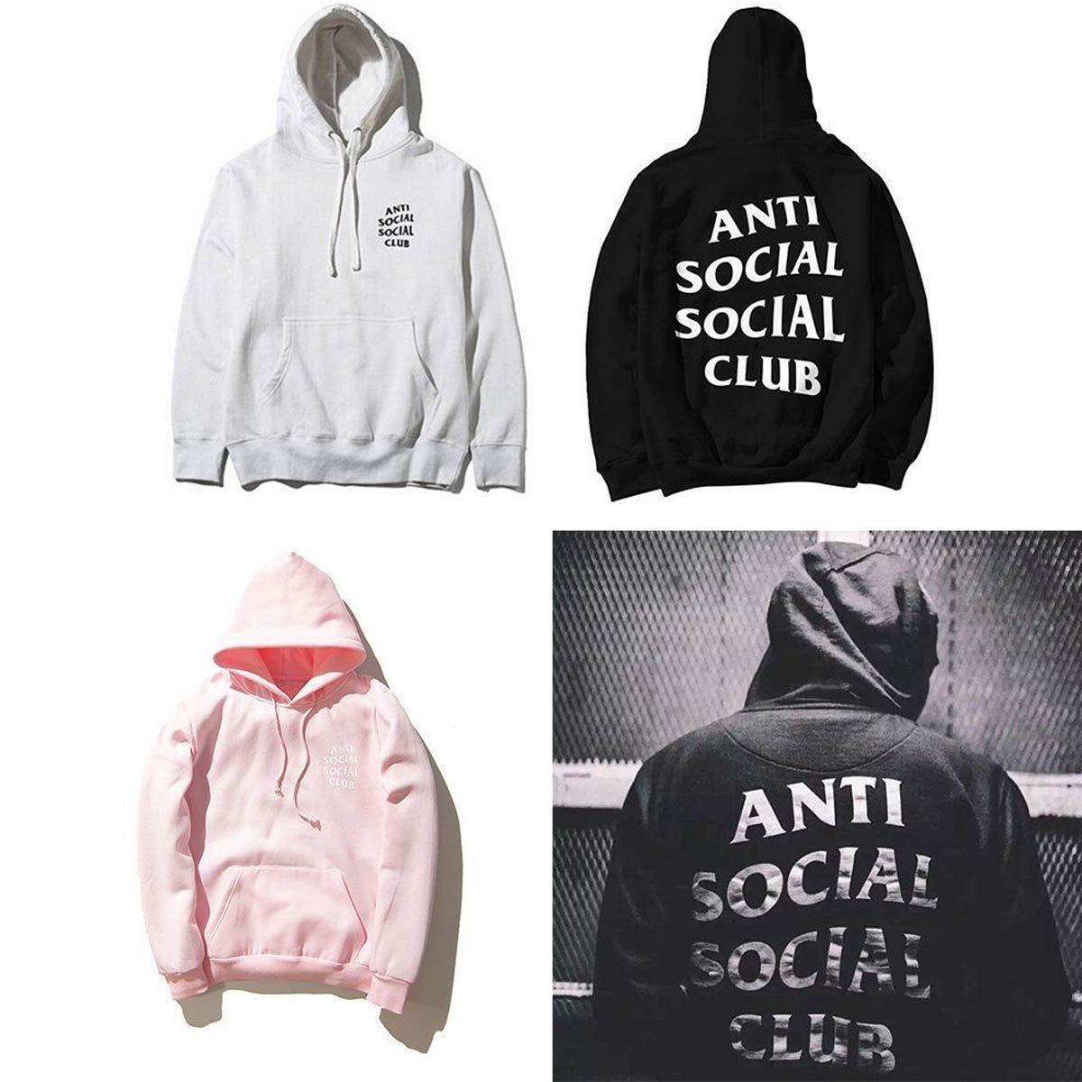 unbrand Unisex M/änner Frauen H/üfte Pop Pulli Mit Kapuze Sweatshirt Sport Mantel Jacke M/ädchen ASSC Hoodie