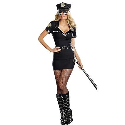 nihiug Halloween Cosplay Sexy Oficial Femenina Uniforme ...