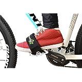 RockBros 1 par correas de pedal de bicicleta pedal Toe Clips Straps cinta para fijo Gear