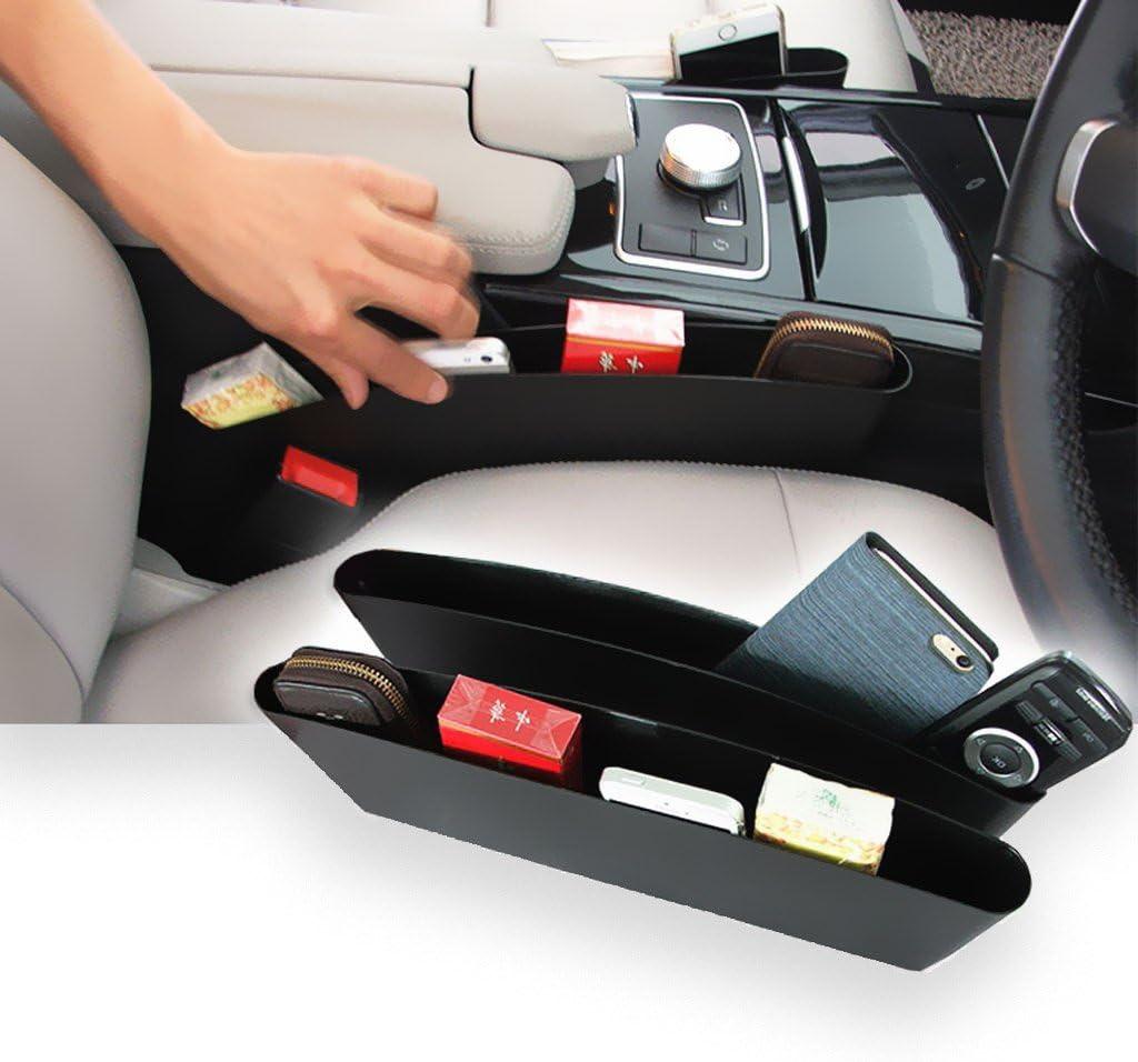 HOT Vehicle Car Seat Gap Slit Pocket Storage Organizer Holder Catch Catcher Box