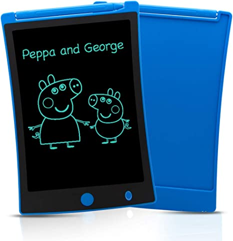 Sunany LCD Writing Tablet,Toddler Drawing Tablet Doodle Pads,Erasable Reusable Doodle Board Electronic Drawing Pads for Kids 3 Years Old and Above Blue