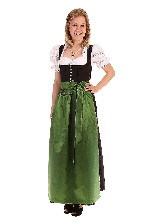 Turi Landhausmode Damen Dirndl schwarz D511012 Bella OHNE Schürze