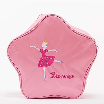 Hand&Star Bolsos De Ballet para Chicas Impreso Mochila Infantil Mochila De Estudiantes por Danza Bailarina Bolsas