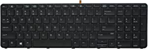 AUTENS Replacement Keyboard for HP ProBook 450 G3 / 450 G4 / 455 G3 / 455 G4 / 470 G3 / 470 G4 Laptop No Pointer (Backlight)