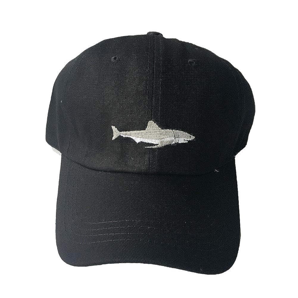 XUNQIARS Cappello da Baseball con squalo Ricamato da Donna 100/% Cotone
