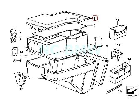 Bmw Genuine Fuse Box Cover Amazon Co Uk Car Motorbike