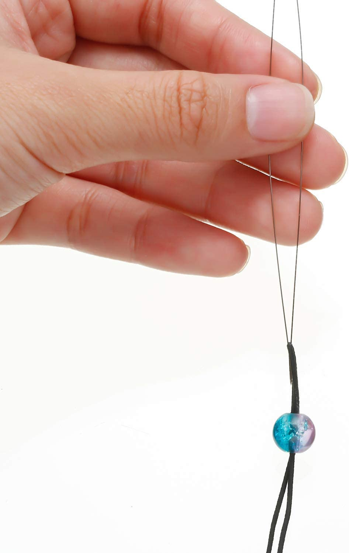 30 Pieces with Needle Bottle for Jewelry Making Stainless Beading Needles 6 Size Beading Embroidery Big Eye Beading Needles