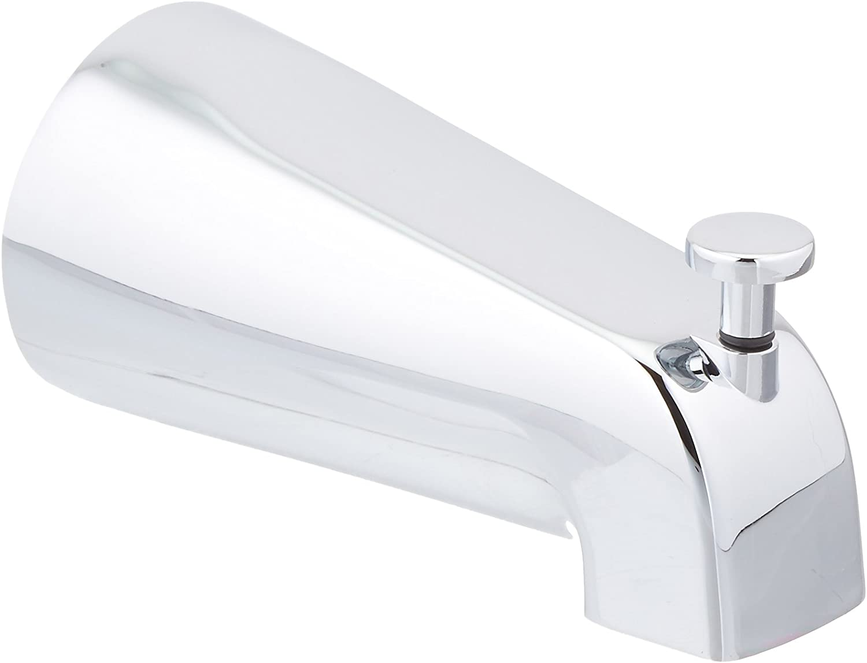 "Price Pfister 015-150AChrome 5"" Quick Connect Tub/Shower Diverter Spout, Standard Diverter Knob"