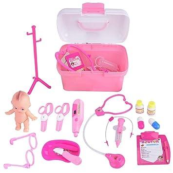 Giocattolo il mio medico Play Set con custodia di trasporto-Kids Junior Medico Set Gioco di Ruolo