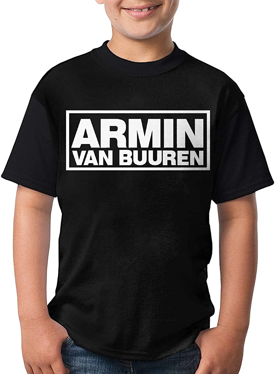 Armin Van Buuren T Shirts Youth Round Neck Shirt Fashion Youth Tees