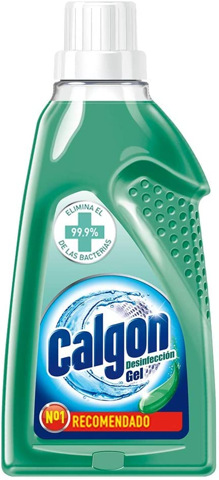 Calgon Desinfección Gel - Líquido bactericida y eliminación de malos olores de la lavadora, 1.5L