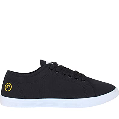 c27ddb1c896c Firetrap Swift Pumps Mens Canvas Lace Up Casual Soes Trainers Plimsoles (10  UK