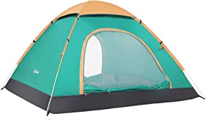 Ubon 2-3 Person Pop up Tent Instant Tent Lightweight Backpacking Tent Camping