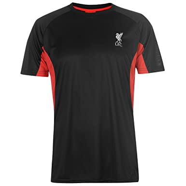 cbc4632e34d Source Lab Mens Liverpool Poly T Shirt Crew Neck Regular Fit  Amazon.co.uk   Clothing