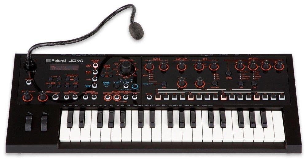 Roland, 37-Key Synthesizer, 37 keys (JD-XI) by Roland