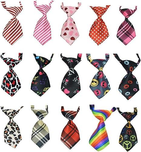 Rhww 15 Piezas/Paquete Corbatas para Perro O Gato Collar ...