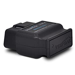 Veepeak OBDCheck BLE+ Bluetooth 4.0 OBD2 Scanner Code Reader for iOS & Android, Car Diagnostic Scan Tool for Check Engine Light Supports Year 1996 and Newer Vehicles in The US