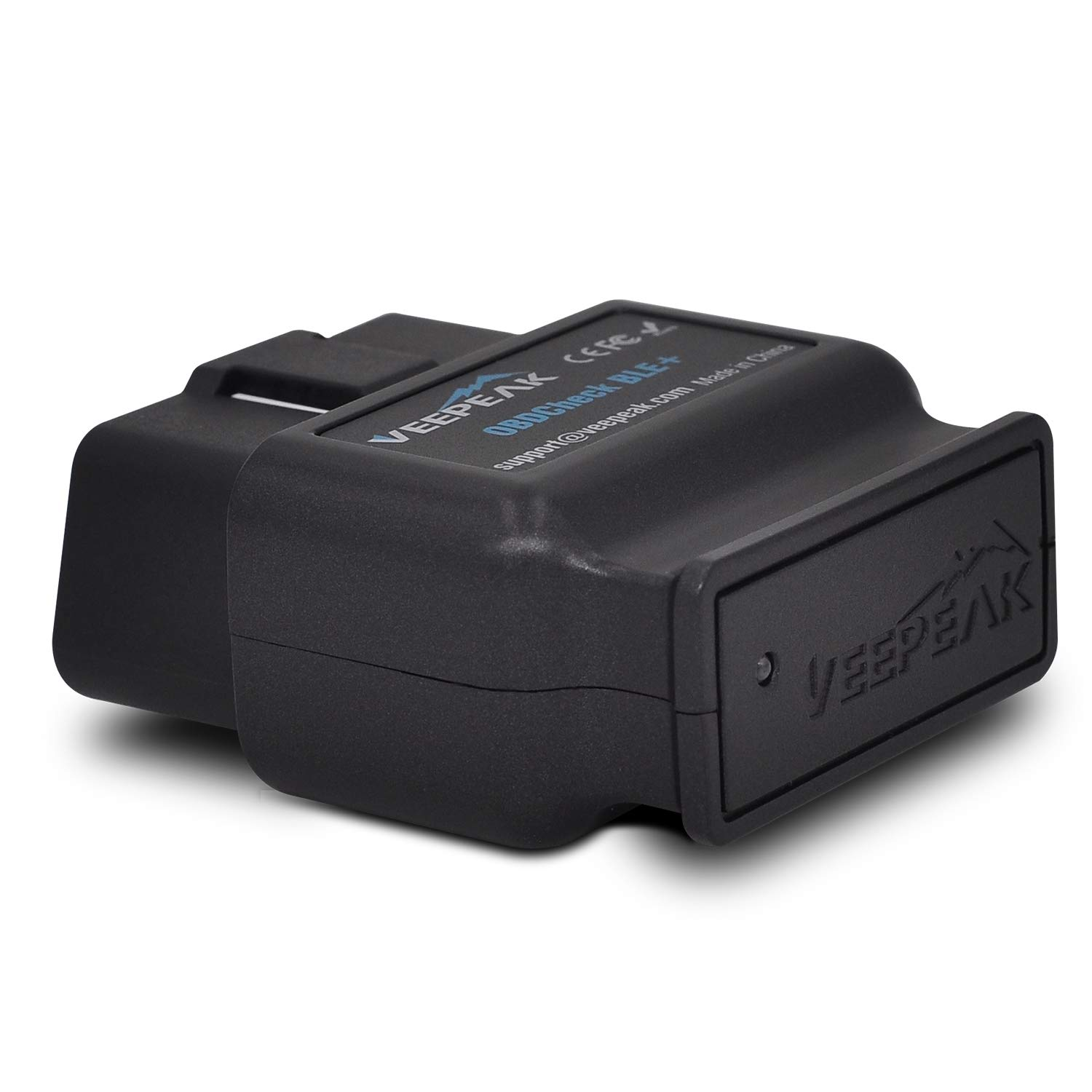 Veepeak OBDCheck BLE+ Bluetooth 4.0 OBD2 Scanner Code Reader for iOS & Android, Car Diagnostic Scan Tool for Year 1996 and Newer Vehicles in The US