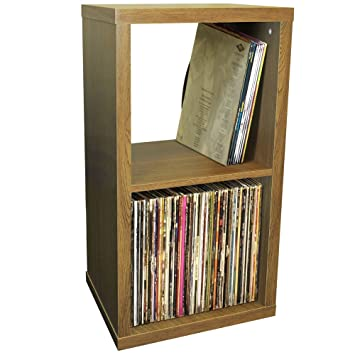 watsons cube 2 cubby square display shelves vinyl lp record