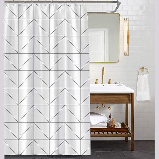 XUJUANA Cortina de baño mampara baño Producto Impermeable con ...