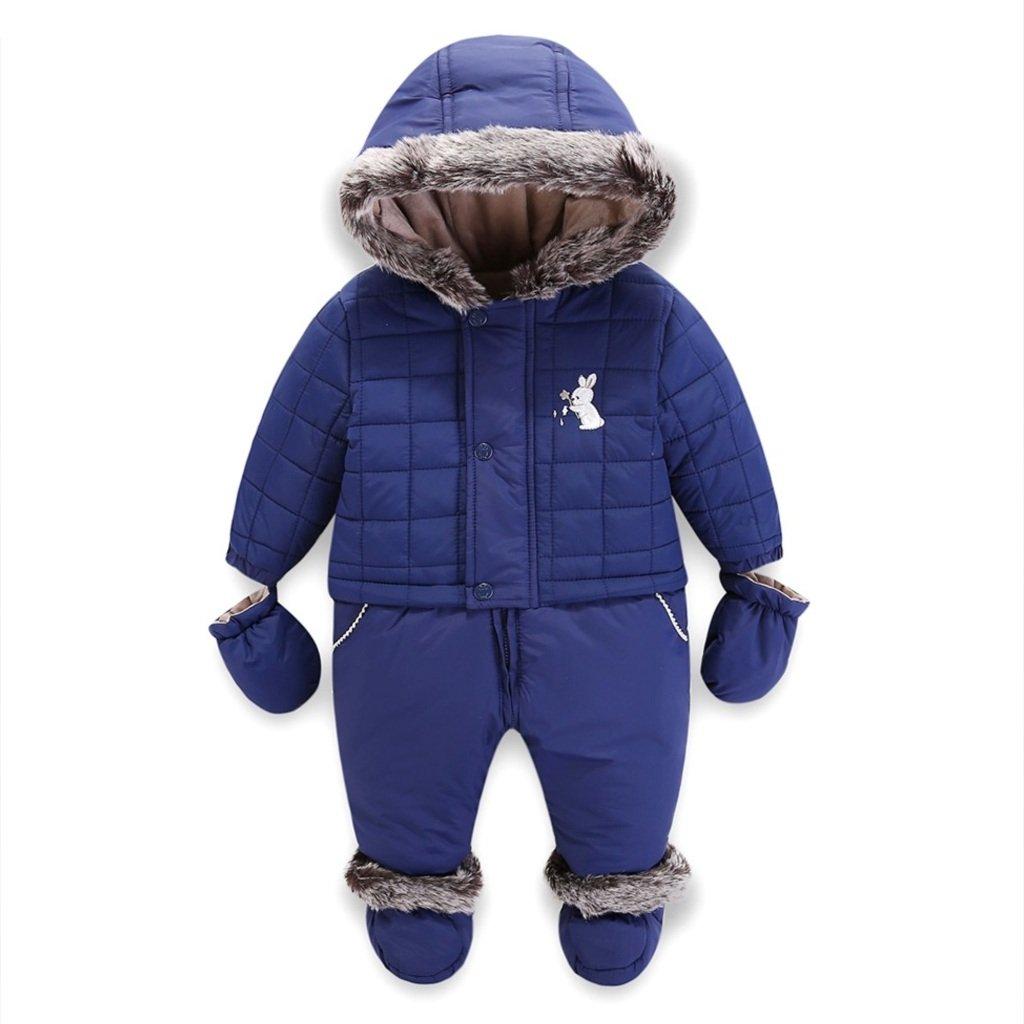 Vine Bambino Snowsuits Pagliaccetti Incappucciati Abiti Invernali Cappotti per Ragazzi