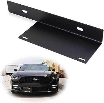 Wind gt Black License Plate Frame Metal License Plate Frame for US Canadian Vehicles 12 x 6 inch