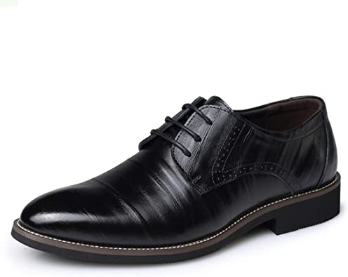 Men Casual Shoes Pointed Toe Formal Shoes Fashion Business Shoes Oxford Dress Shoes Men
