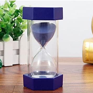 Reloj de arena temporizador, 9 colores, reloj de arena para cocina, reloj de