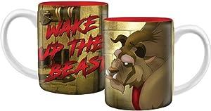 Wake Up the Beast Beauty and the Beast Coffee Mug, 14 Ounce