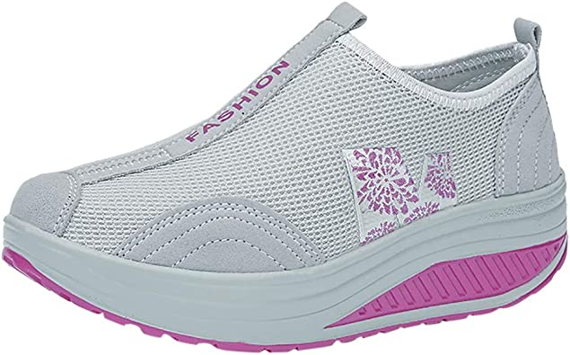Zapatos Gym Running Verano Primavera otoño,ZARLLE Mujeres de ...