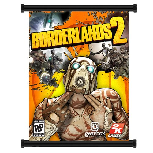 Borderlands 2 Game Fabric Wall Scroll Poster  Inches