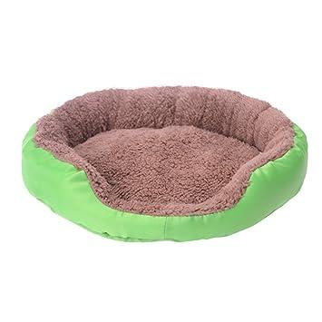 UEETEK Camas para Perros Cojín Casa de Dormir para Mascotas - Tamaño M (Verde): Amazon.es: Deportes y aire libre