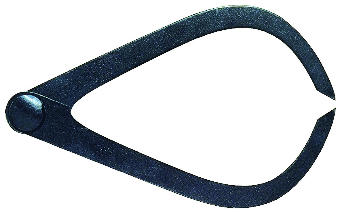 Stubai 255002 Compas d'Exté rieur, Noir, 180 mm