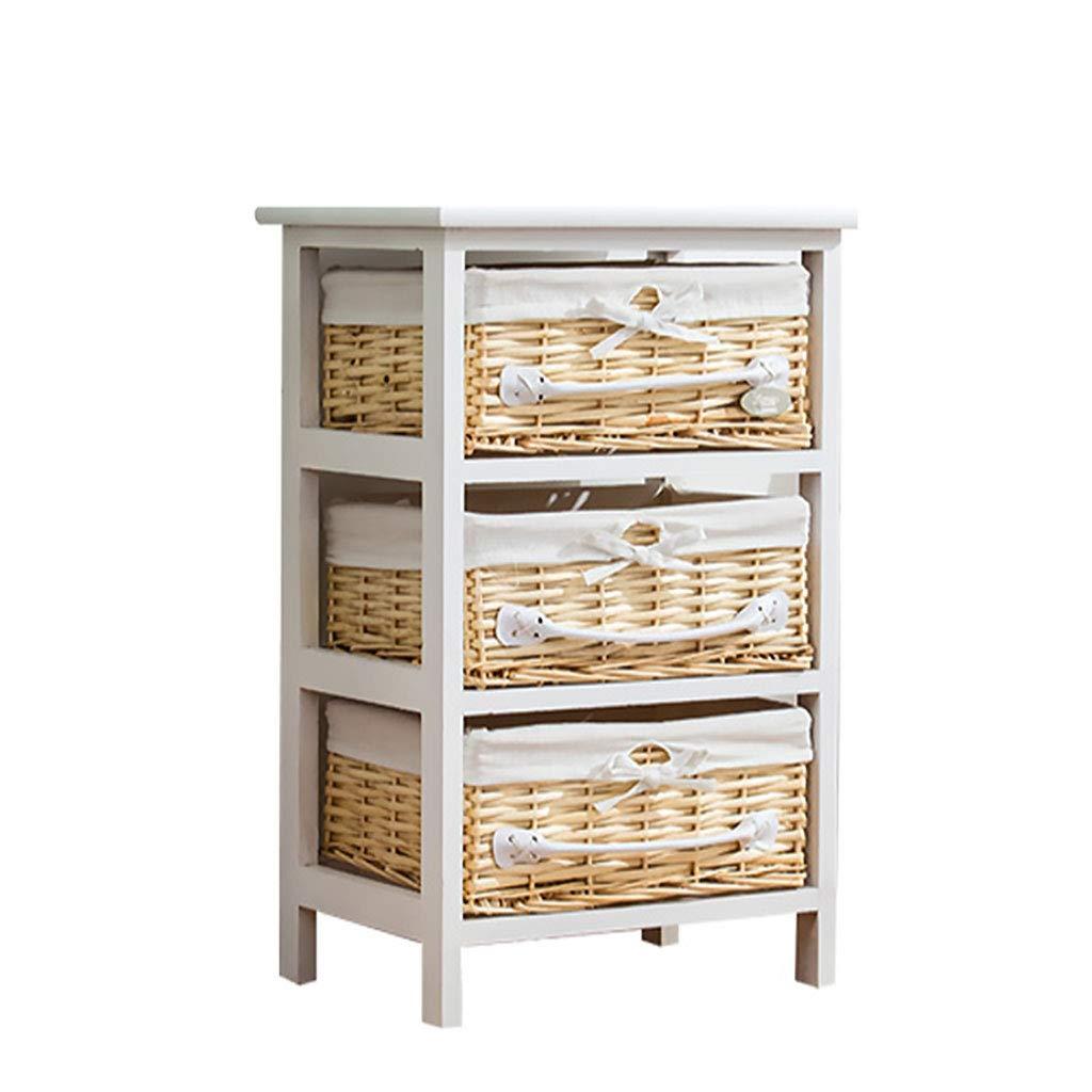 木製オーガナイザー棚、ソース収納キューブ3-4層本棚服ディスプレイユニットオーガナイザー用ホームナチュラル (サイズ さいず : 59x27.5x38) B07MTKKNWZ  59x27.5x38